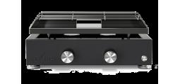 Plancha gaz émaillé noir 1