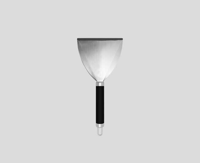 Reinigungsschaber aus Edelstahl ☀ Verycook