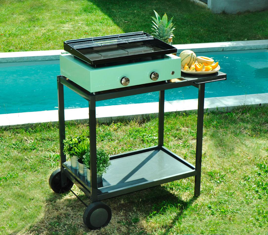 Choisir Une Plancha Professionnelle plancha gas grill simplicity 2 - enamelled steel plate